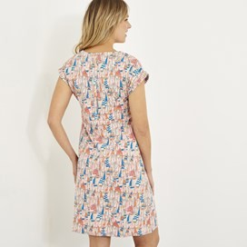 Tallahassee Printed Jersey Dress Shell
