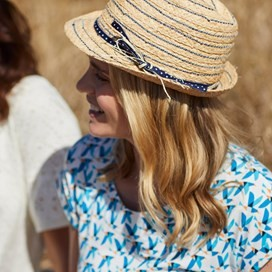 Mamon Straw Panama Hat Natural