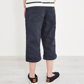 Cassia 3/4 Length Trousers Dark Navy