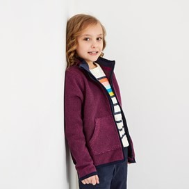 Tora Full Zip Fleece Purple Orchid
