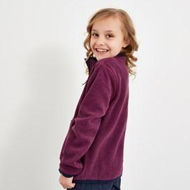 Tora Full Zip Fleece Purple Orchid