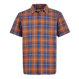 Charter Short Sleeve Check Shirt Pumpkin
