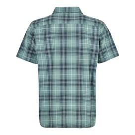 Charter Short Sleeve Check Shirt Mineral Blue