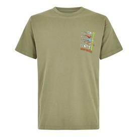 Sling Your Hook Artist T-Shirt Khaki Green