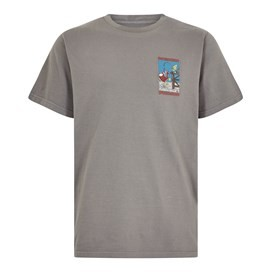 Weird Fishing Artist T-Shirt Steel Grey