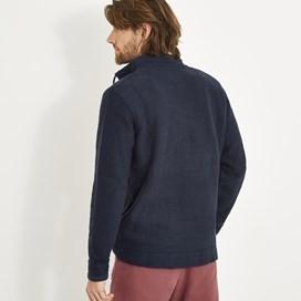 Alder Full Zip Classic Macaroni Sweatshirt Dark Navy