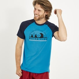 Ram Bamboo T-Shirt Lagoon blue