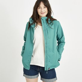 Lulu Waterproof Jacket Viridis