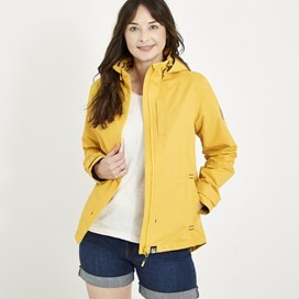 Lulu Waterproof Jacket Sweetcorn