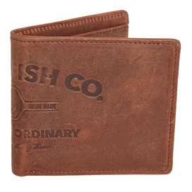 Browse Leather Embossed Wallet Brown