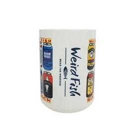 Malcolm Artist Design Mega Mug White