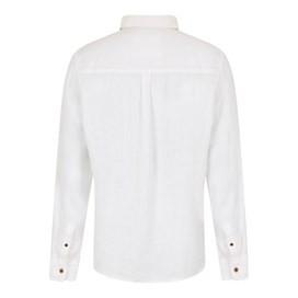 Sorrel Long Sleeve Linen Shirt Dusty White