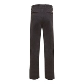 Carbon Relaxed Chino Trouser Charcoal