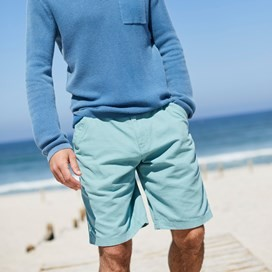 Ballina Relaxed Casual Shorts Mineral Blue
