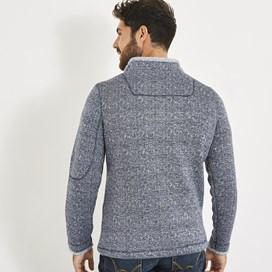 Beaufort 1/4 Zip Soft Knit Fleece Maritime Blue
