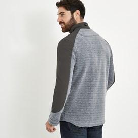 Sekula Full Zip Sherpa Fleece Grey