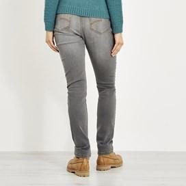 Vixen Straight Leg Denim Jean Grey Wash