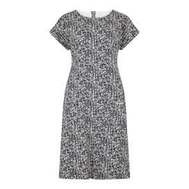 Tallahassee Printed Jersey Dress Indigo