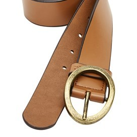 Clarence Leather Belt Tan