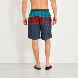 Mahon Branded Board Shorts Dark Navy