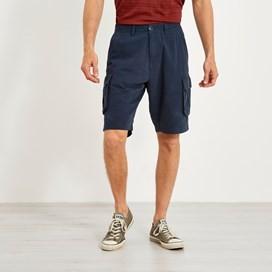 Brize Cotton Twill Cargo Shorts Dark Navy