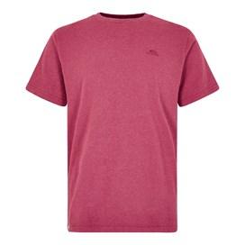 Fished Plain Branded T-Shirt Malaga Marl