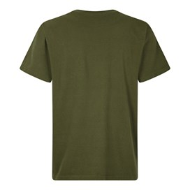 6 Pack Beer Cans  Artist T-Shirt Dark Olive