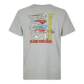 Sling Your Hook Artist T-Shirt Gunmetal