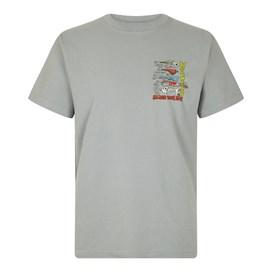 Sling Your Hook Artist T-Shirt Gunmetal