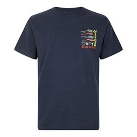 Sling Your Hook Artist T-Shirt Navy