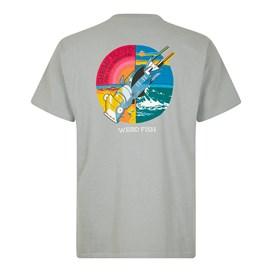 Fish You Artist T-Shirt Gunmetal