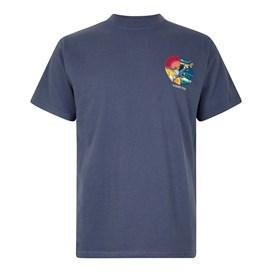 Fish You Artist T-Shirt Blue Indigo