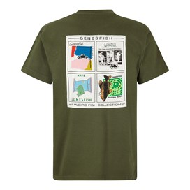 Genefish Artist T-Shirt Dark Olive