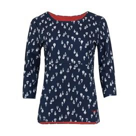 Pinto Printed Jersey T-Shirt Dark Navy