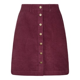 Winny Cord Skirt Purple Potion