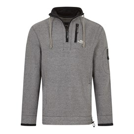 Parkway 1/4 Zip Tech Macaroni Sweatshirt Cement