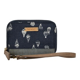 Esher Printed Purse Dark Navy