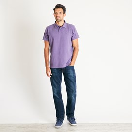 Quay Branded Polo Light Grape Marl