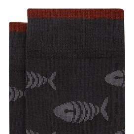 Arbour Branded Sock Multi Pack Washed Black