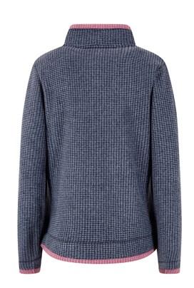 Ariana Grid Fleece Jacket Navy
