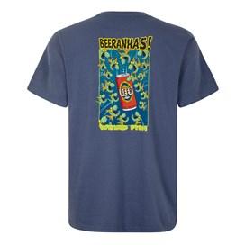 Beeranhas Artist T-Shirt Blue Indigo