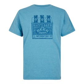 Happy Days Branded T-Shirt Copen Blue Marl