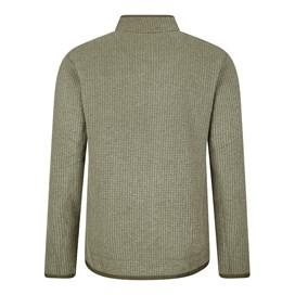Rossten Full Zip Grid Fleece Jacket Dark Olive