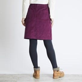Winny Cord Skirt Purple Potion