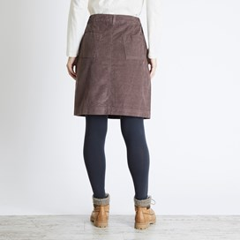 Winny Cord Skirt Deep Taupe