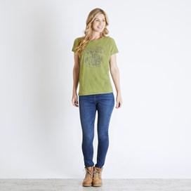 Shreya Graphic T-Shirt Pear Marl