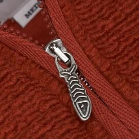 Court ¼ Zip Polar Fur Fleece Chilli Red