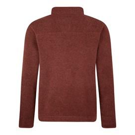 Stowe 1/4 Zip Soft Knit Fleece  Henna