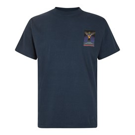 Crow Encounters Artist T-Shirt Navy