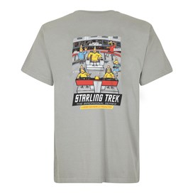 Starling Trek Artist T-Shirt Gunmetal